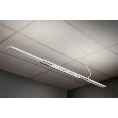 teamled suspended luminaire lg 1200 mm dd