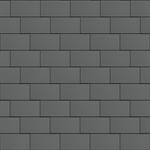 groot formaat losange (333 mm x 600 mm, horizontaal, prepatina graphite-grey)