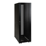 42U Server Rack, Euro-Series – Expandable Cabinet, Standard Depth, Doors & Side Panels Included