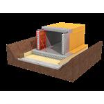 système d'étanchéité sikaproof® a/p, membrane fpo totalement adhérente pour cuvelage et étanchéité sur béton durci