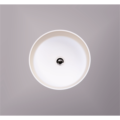 lavabo hi-macs® cb330c (installation par le haut)