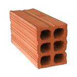 Double Hollow Clay Brick 24 cm