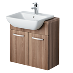 Bow Washbasin Semi-countertop 50cm 1 Taphole