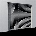 transparent murax security shutter vision