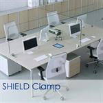 shield interior glass partition showcase