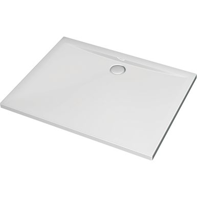 ultra flat rectangular shower tray 1000x900mm