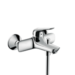 Novus Single lever bath mixer for exposed installation with centre distance 15.3 cm 71041000