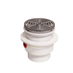 PVC Adjustable Floor Drain with Integrated Level - FD-1290-PR-60