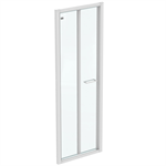 CONNECT 2 B/FOLD 70 UNHAND DOOR IC WHT CLEAR