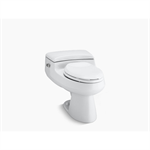 san raphael® comfort height® one-piece elongated 1.0 gpf toilet with pressure lite® flushing technology and left-hand trip lever