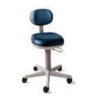 Midmark 425 Air Lift Physician Stool - Hand Operated