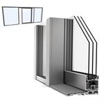 slidingdoor triple upvc-alu internorm ks430 g