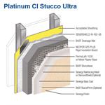 platinum ci stucco ultra - senergy wall systems