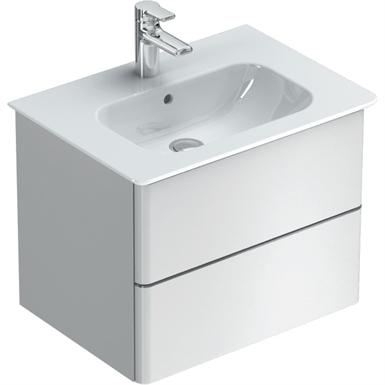 softmood vanity unit 600x440mm, 2 drawer