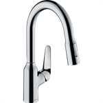 M429-H180 Single lever kitchen mixer with pull-out spray 71801000