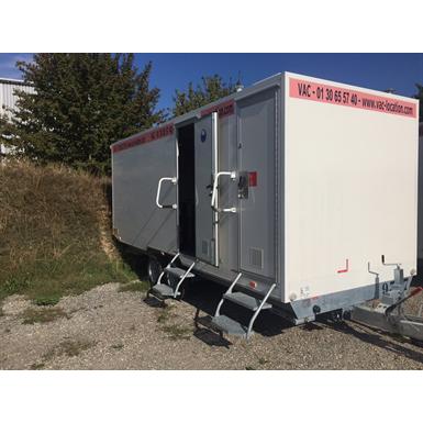8-person office trailer