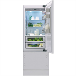 Vertigo Collection - 75 Cm Built-In Bottom Mount Refrigerator KCVCX 20750R