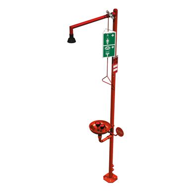 85671 PRESTO Safety Shower and Eye Wash Combo