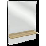 struktura - tall mirror with shelf 79 cm