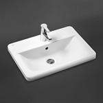 concept cube 58cm countertop washbasin 1 taphole