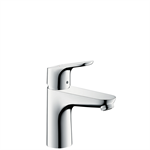 Focus Single lever basin mixer 100 with pop-up waste set 31607007