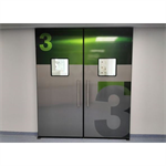 Automatic door - Non Hermetic BP_P50 without fixed panel