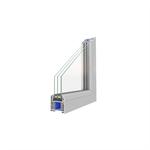 OKNOPLAST, okno PROLUX, stałe szklenie w ramie