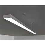 suspension pline feeds cables with false ceiling