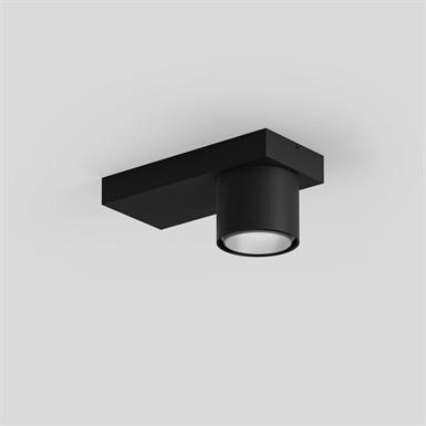 SASSO 60 base ceiling round adjustable 1 lamp