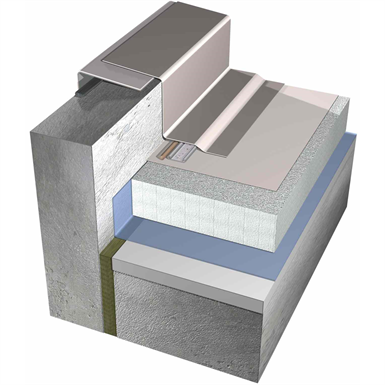 mechanically fastened warm roofing system with sarnafil® s-327 (single ply pvc membrane)