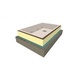 système d'étanchéité de toiture fixé mécaniquement avec sarnafil s-327 (membrane synthétique)