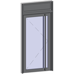 grand trafic doors - single outward opening with transom
