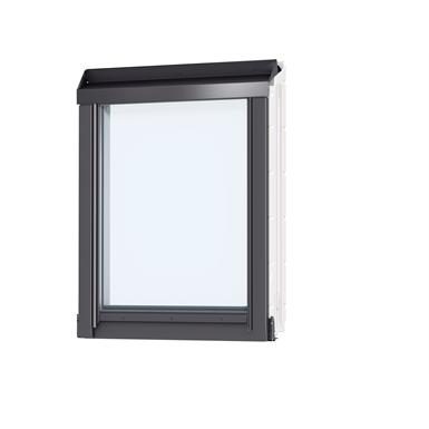 fenêtre verticale pour verrières d'angle (à coupler avec ggl/ggu, gpl/gpu), finition blanche (viu)