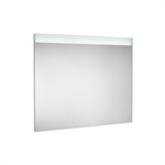 PRISMA CONFORT - Mirror with upper and lower LED lighting and demister device