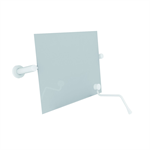 Nylon Care Adjustable mirror with operating handle 550x500