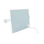 nylon care miroir inclinable avec levier de réglage 550x500