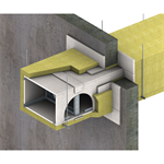 Fire Resistant Self-Supporting Duct