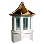 Oxford Series Windowed Cupola Is An Octagon With A Pagoda Style Roof