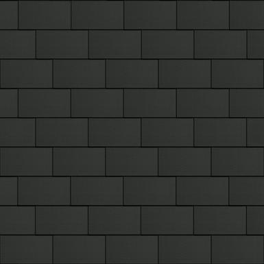 bardeaux façade (500 mm x 1000 mm, horizontal, artcolor basalte)
