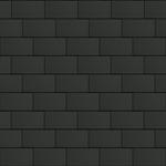 bardeaux facade (500 mm x 1000 mm, horizontal, artcolor basalte)