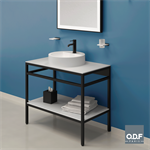 vanity unit 90 x 50cm compact surface