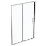 connect 2 slider door 140 clear glass