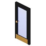 Full Lite - Single Door