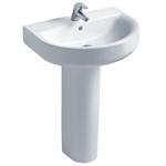concept arc 60cm washbasin, pedestal or furniture 1 taphole