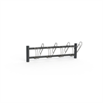 BIKE Bicycle Rack, One Sided with frame lock