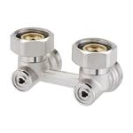 Right-angle manually H valves