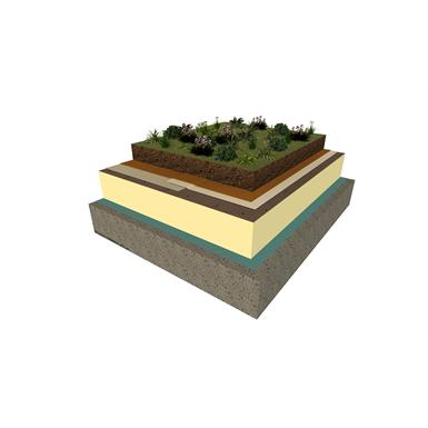 begrünte flachdachsysteme mit sarnafil® tg-66 (einlagige membrane)