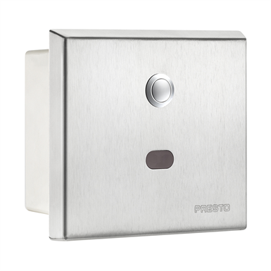 55610 presto urinal concealed flush valve rinal concealed flushvalve battery operated