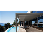 pergolas & aas patio roofs posts with wall mounting