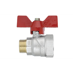 Ball valve  TOP Male - Female  with butterfly handle